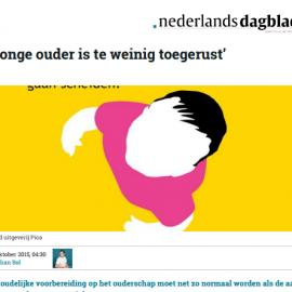 Nederlands Dagblad - 'Jonge ouder is te weinig toegerust'